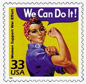 1999 33c Celebrate the Century - 1940s: Women Support War Effort