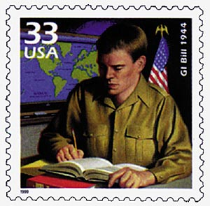 U.S. #3186i – The Legion drafted the act that became the GI Bill.