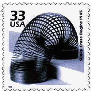 1999 33c Celebrate the Century - 1940s: Slinky Craze Begins 1945