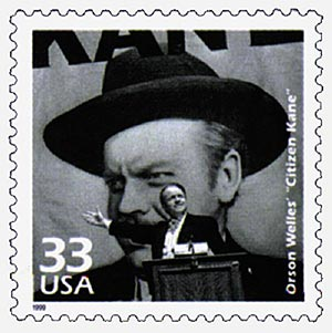 "1999 33c Celebrate the Century - 1940s: Orsen Welles ""Citizen Kane"""