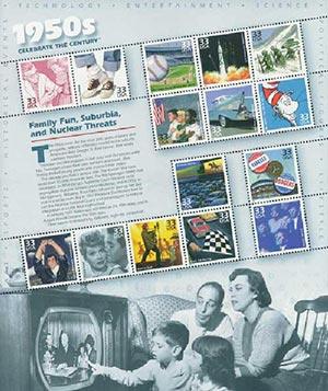 1999 33c Celebrate the Century: 1950s