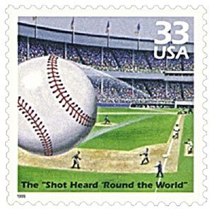1999 33c Celebrate the Century - 1950s: Shot Heard Round the World