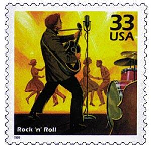 1999 33c Celebrate the Century - 1950s: Rock n Roll