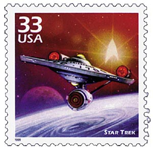 1999 33c Celebrate the Century - 1960s: Star Trek