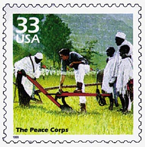 1999 33c Celebrate the Century - 1960s: The Peace Corps