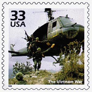 1999 33c Celebrate the Century - 1960s: The Vietnam War
