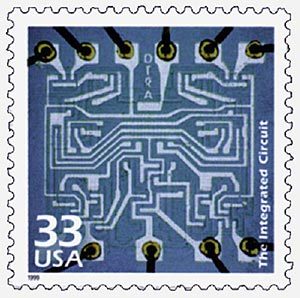 1999 33c Celebrate the Century - 1960s: The Integrated Circuit