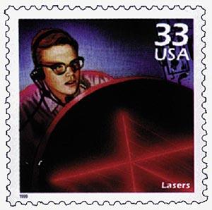 1999 33c Celebrate the Century - 1960s: Lasers