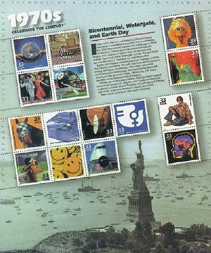 1999 33c Celebrate the Century: 1970s