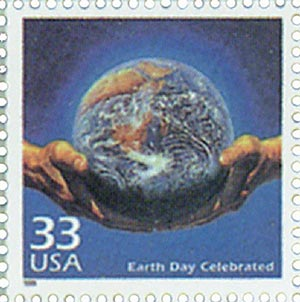 1999 33c Celebrate the Century - 1970s: Earth Day