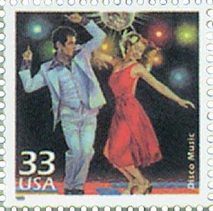 1999 33c Celebrate the Century - 1970s: Disco