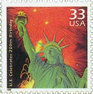 1999 33c Celebrate the Century - 1970s: U.S. Bicentennial