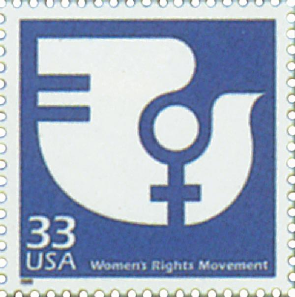 1999 33c Celebrate the Century - 1970s: Womens Rights Movement