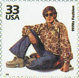1999 33c Celebrate the Century - 1970s: 1970s Fashion