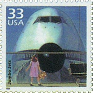 1999 33c Celebrate the Century - 1970s: Jumbo jets