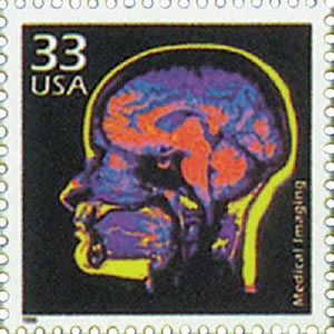 1999 33c Celebrate the Century - 1970s: Medical Imaging