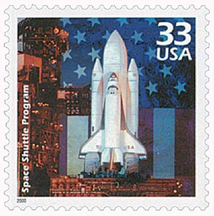 2000 33c Celebrate the Century - 1980s: Space Shuttle Program
