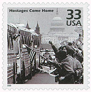 2000 33c Celebrate the Century - 1980s: Hostages Come Home