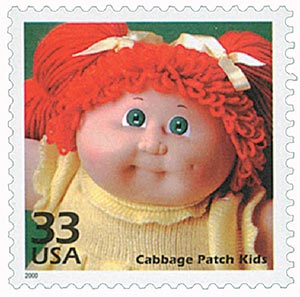 2000 33c Celebrate the Century - 1980s: Cabbage Patch Kids