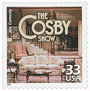 2000 33c Celebrate the Century - 1980s: The Cosby Show