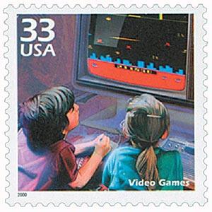 2000 33c Celebrate the Century - 1980s: Video Games