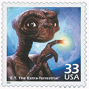 2000 33c Celebrate the Century - 1980s: E.T. the Extra-Terrestrial
