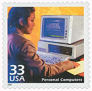2000 Personal Computers stamp