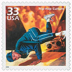 2000 33c Celebrate the Century - 1980s: Hip-hop Culture