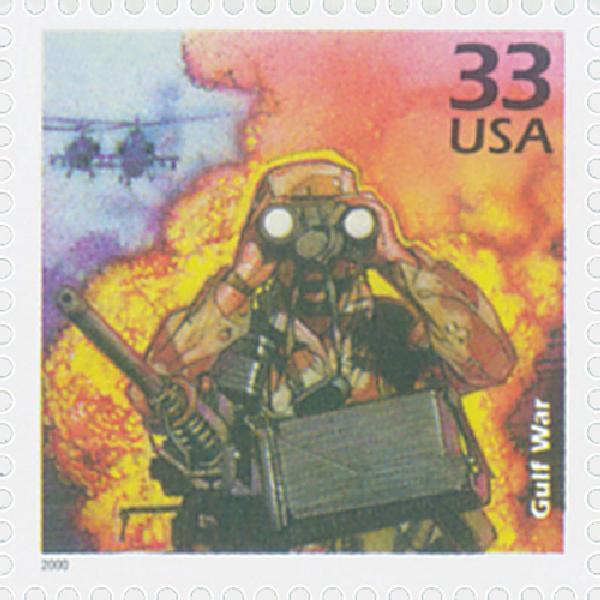 2000 33c Celebrate the Century - 1990s: Gulf War