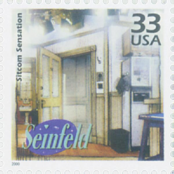 "2000 33c Celebrate the Century - 1990s: ""Seinfeld"""