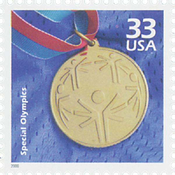 2000 33c Celebrate the Century - 1990s: Special Olympics