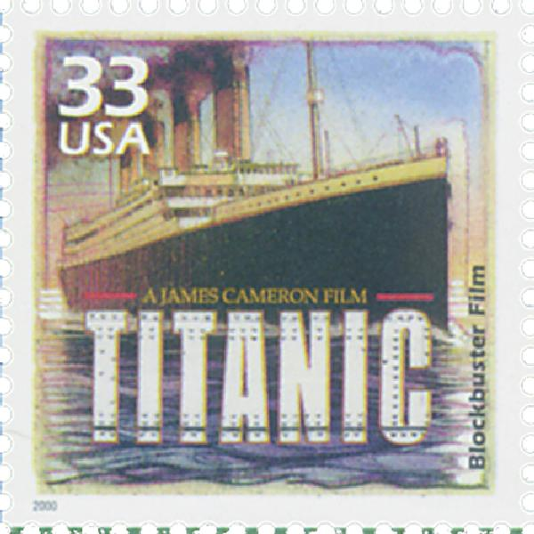 "2000 33c Celebrate the Century - 1990s: ""Titanic"""
