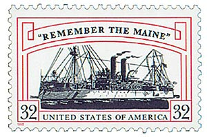 "1998 32c ""Remember the Maine"""