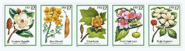1998 32c Flowering Trees