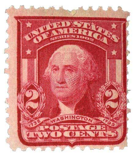1908 2c scarlet