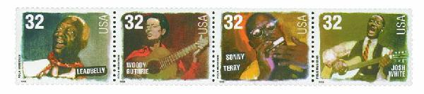 1998 32c Folk Musicians