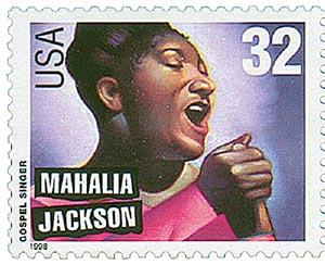 1998 32c Gospel Singers: Mahalia Jackson