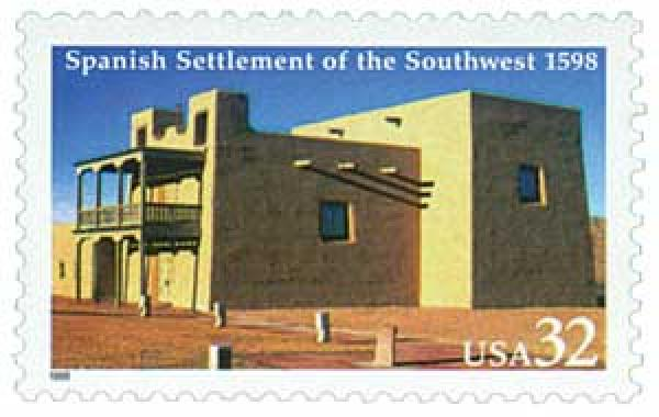 1998 32c Spanish Settlement of the South