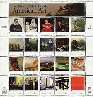 1998 32c Four Centuries of American Art