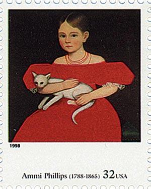 1998 32c Four Centuries of American Art: Ammi Phillips