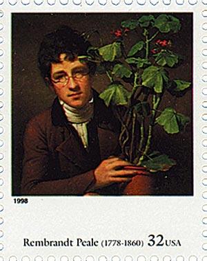 Rembrandt Peale stamp