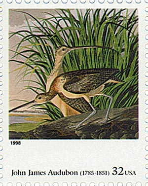 1998 32c Four Centuries of American Art: John James Audubon