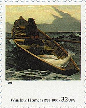 1998 32c Four Centuries of American Art: Winslow Homer