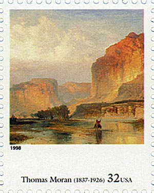 1998 32c Four Centuries of American Art: Thomas Moran