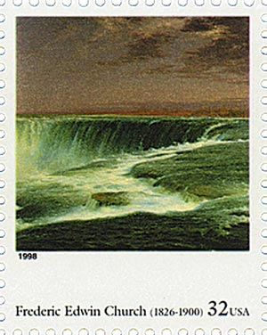 1998 32c Four Centuries of American Art: Frederic Edwin Church