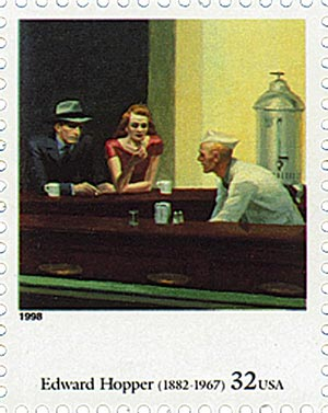 1998 32c Four Centuries of American Art: Edward Hopper