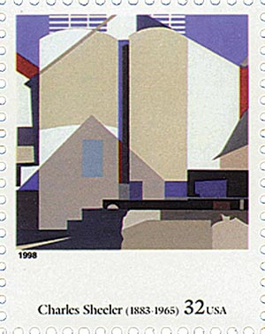 1998 32c Four Centuries of American Art: Charles Sheeler