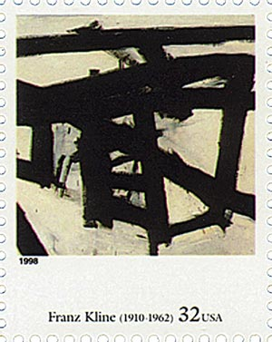 1998 32c Four Centuries of American Art: Franz Kline