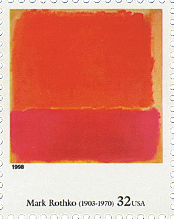 1998 32c Four Centuries of American Art: Mark Rothko