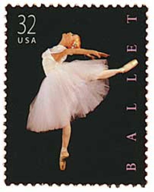1998 32c Ballet